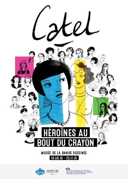Catel au centre belge de la bd