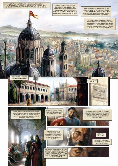 Cathedrale des abymes 2 planche 1