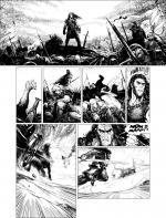 Conan colosse noir planche n b