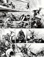 Conan colosse noir planche par toulhoat