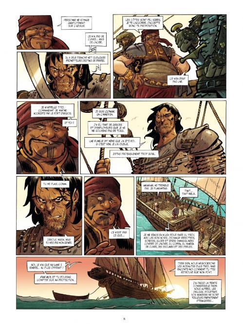 Conan le cimmerien 1 planche suite