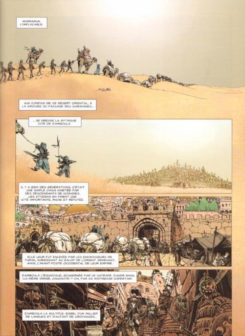 Conan le cimmerien 9 planche