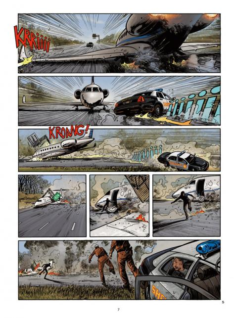Cyberwar 2 planche crash avion