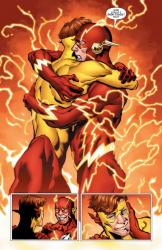 Dc universe rebirth kid flash et flash