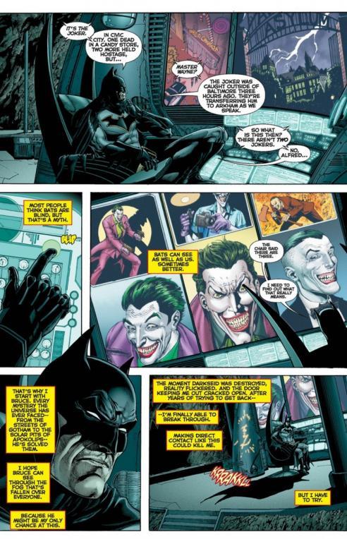Dc universe rebirth planche batman