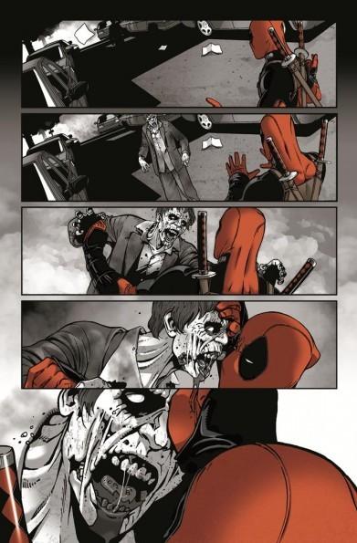 Deadpool la nuit des morts vivants planche