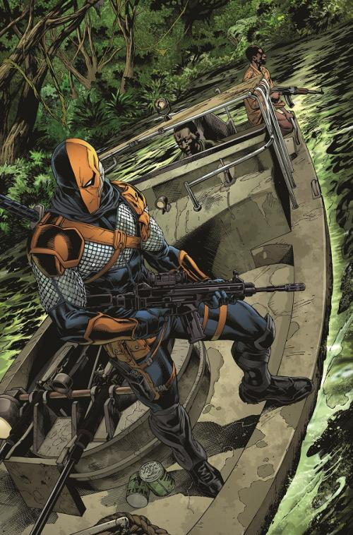 Deathstroke splash