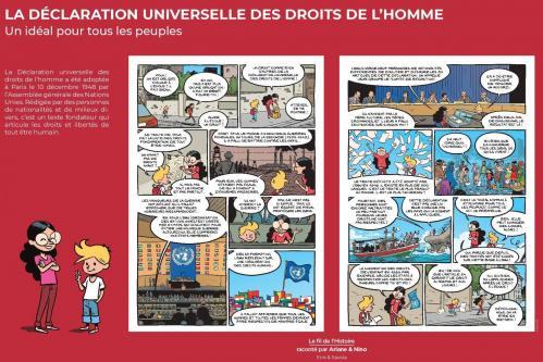 Declaration universelle des droits de l homme