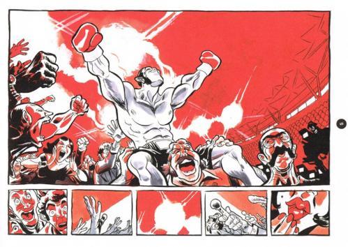 El boxeador planche