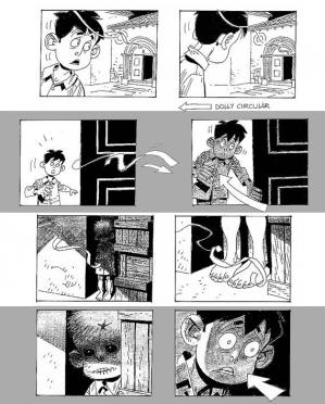 El espinazo del diablo storyboard