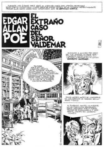 El extrano caso del sr valdemar d edgar allan poe