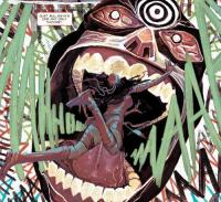 Elektra 100 marvel 2e serie cartonne image bullseye