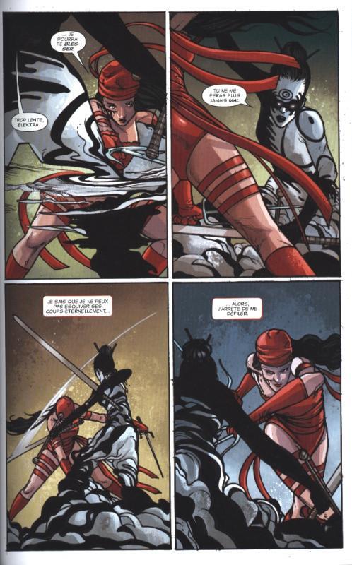 Elektra 100 marvel 2e serie cartonne image page