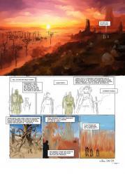 Elfes 29 storyboard de kyko Duarte