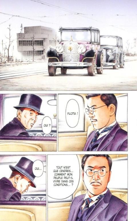 Empereur du japon planche debut couleur