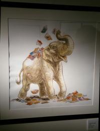 Expo frank pe illu elephant