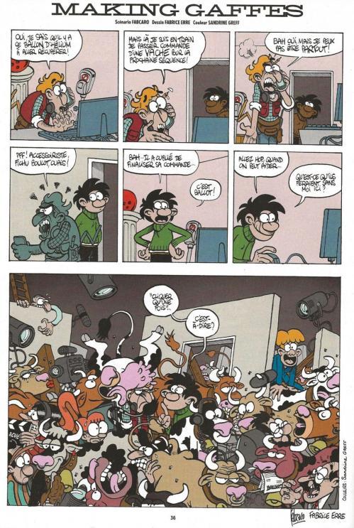 Gaston mega spirou hors serie hommage