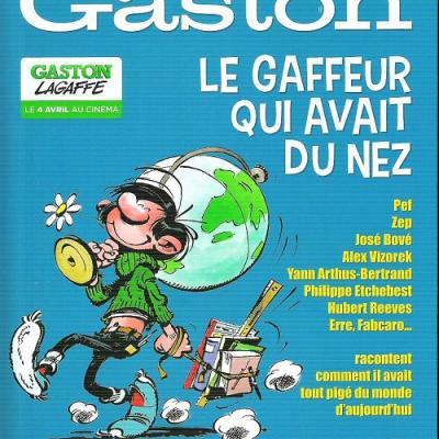 Gaston mega spirou hors serie