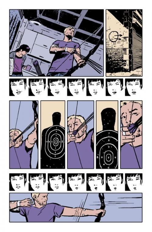 Hawkeye planche