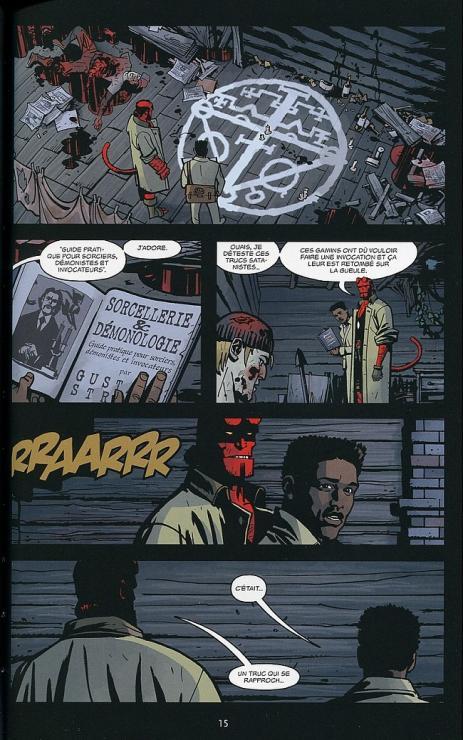 Hellboy b p r d 4 planche