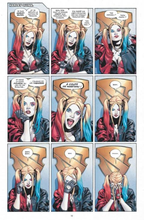 Heroes in crisis planche harley