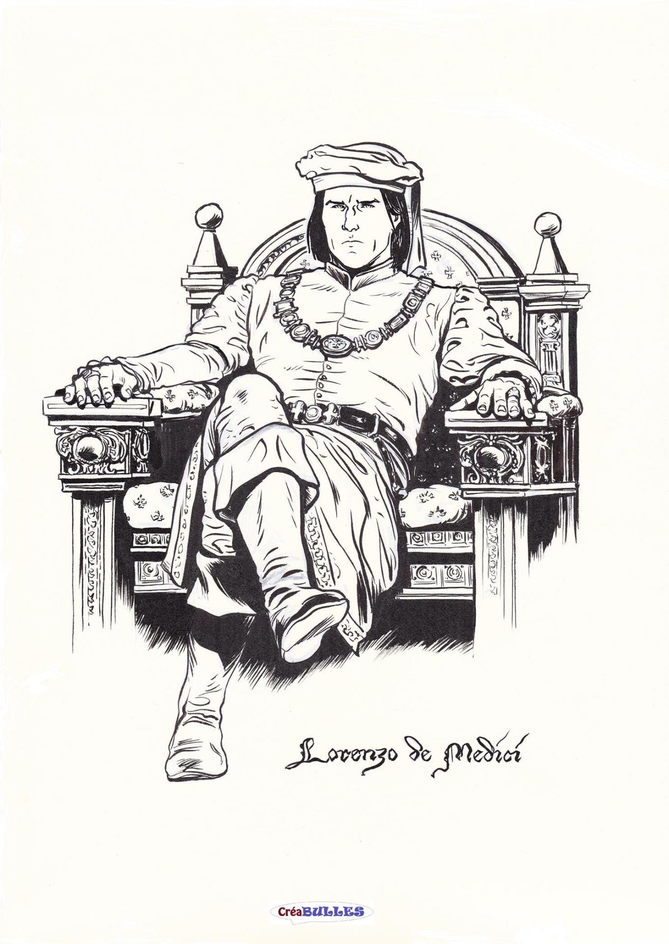 Ex-Libris Lorenzo de Medicis par Eduard Torrents
