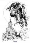 Ex-Libris Loup-Garou par Duarte