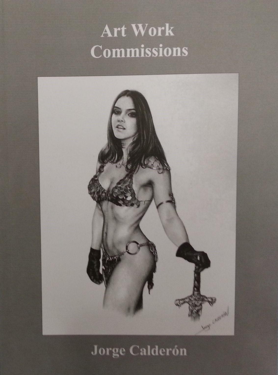 Artbook Jorge CALDERON