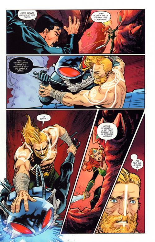 Justice league new justice 2 planche