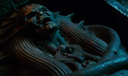 La momie sarcophage