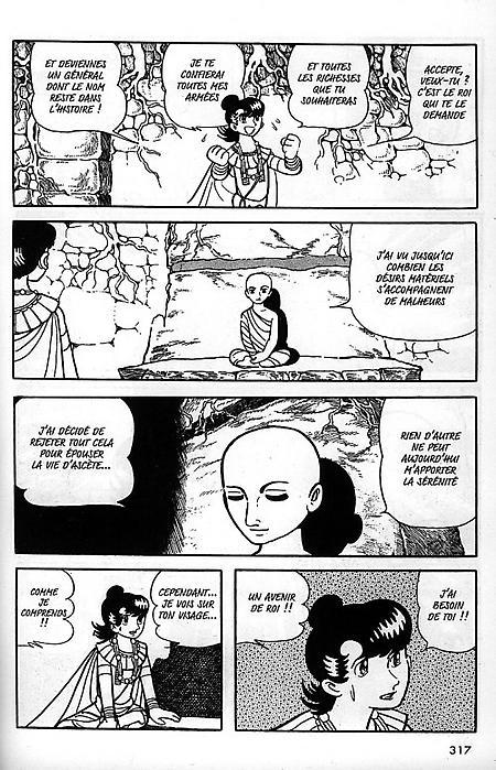 La vie de bouddha planche