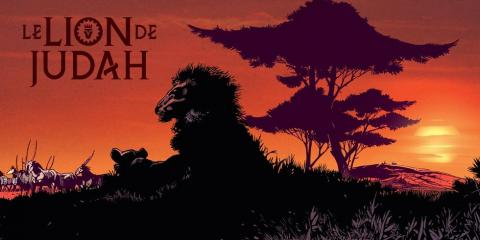 Lion de judah banner