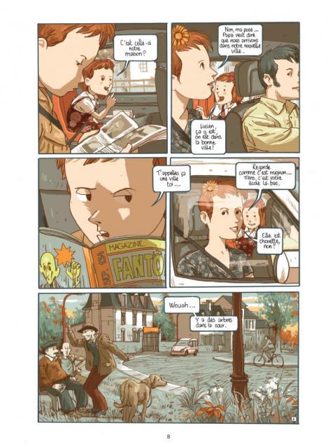 Lucien et les mysterieux phenomenes page 8