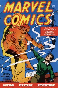 Marvel comics 1