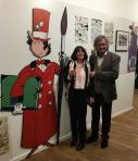 Mr wasterlain et son epouse a l expo