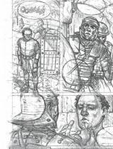 Murena artbook planche crayonnes