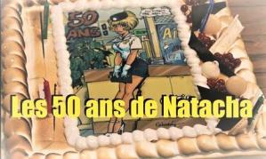Natacha fete ses 50 ans