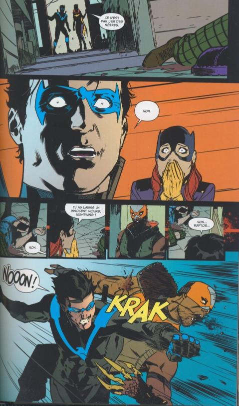 Nightwing rebirth planches