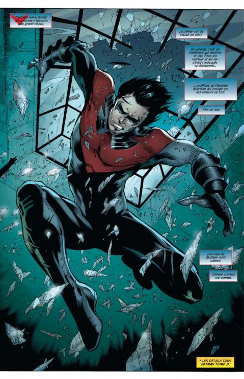 Nightwing 3 planche