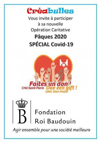 Operation caritative paques 2020 special covid 19