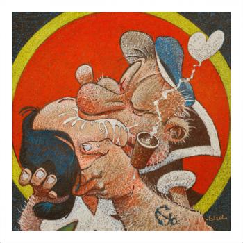 Pastels de regis loisel a la galerie champaka