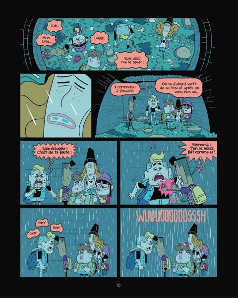 Perdus dans le futur page 10