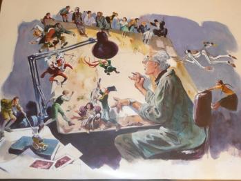 Rene follet peinture