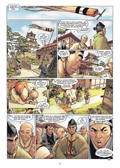 Samurai 11 le sabre et le lotus planche