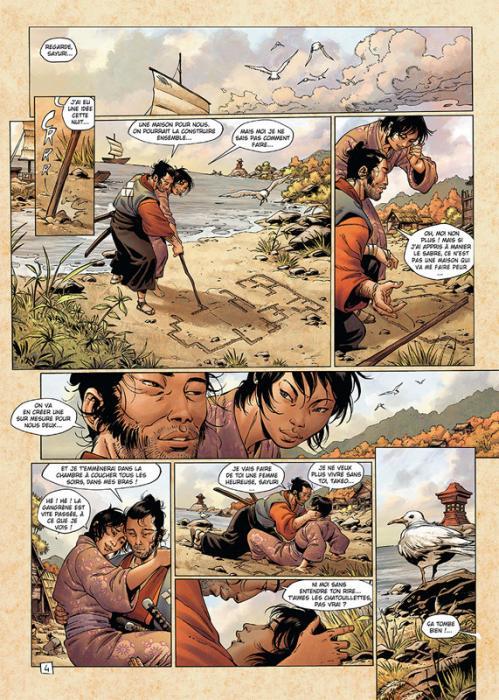 Samurai 13 planche