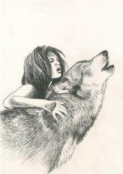 Servais le loup m a dit frontispice