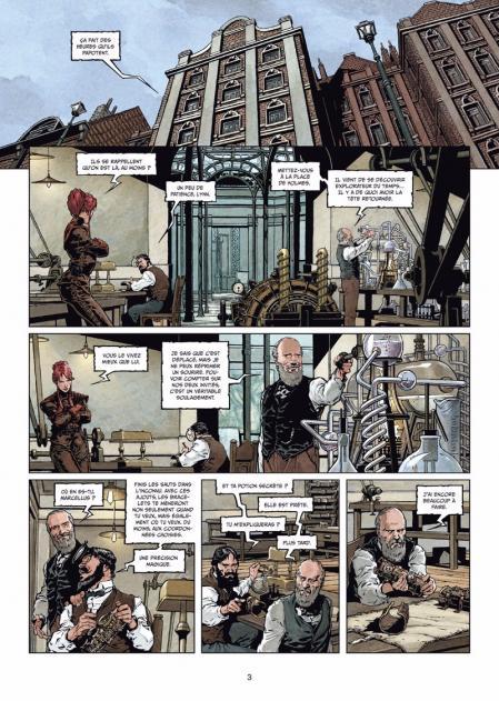 Sherlock holmes et les voyageurs du temps 2 planche