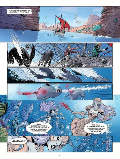 Sirenes et vikings planche 1