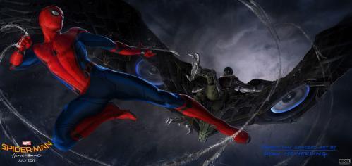 Spider man vautour