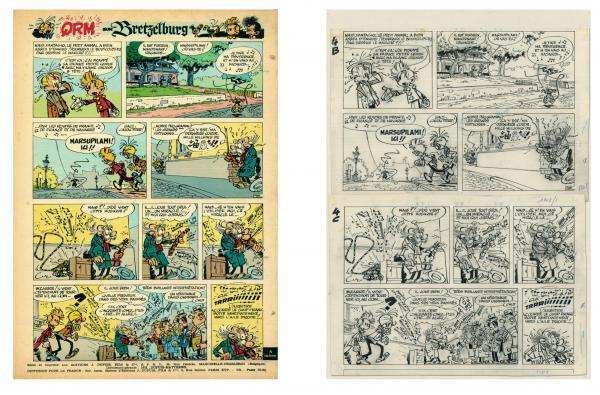 Spirou qrn bretzelburg canalbd pages